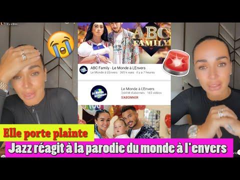 JAZZ EN LARMES RÉAGIT À SA PARODIE DE LA CHAINE MONDE À L'ENVERS !