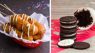 Veterans Try to Re-Create Our Deep Fried Oreos Recipe!!! | So Yummy Top-Down Challenge