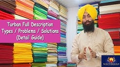 Turban Full Description Types / Problems / Solutions (Detail Guide)