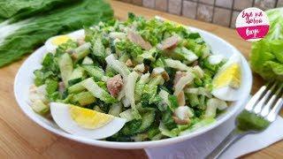 Салат с капустой, который понравится с первой Вилки! Сочный, без майонеза