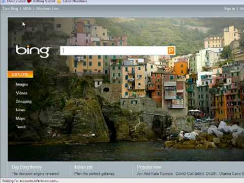 Search for Images and Video with Bing