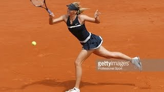 Maria Sharapova VS Bethanie Mattek-Sands Highlight RG 2008 R2