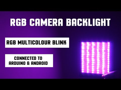 RGB Camera Backlight Control With Android Mobile