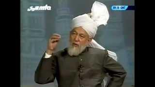Rencontre Avec Les Francophones 9 février 1998 Question Réponse Islam Ahmadiyya