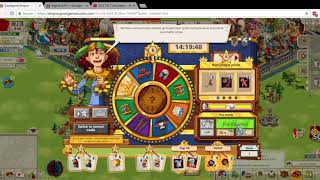 Goodgame Empire  Spinning the Wheel of Fortune ( 60k rubies won ! )