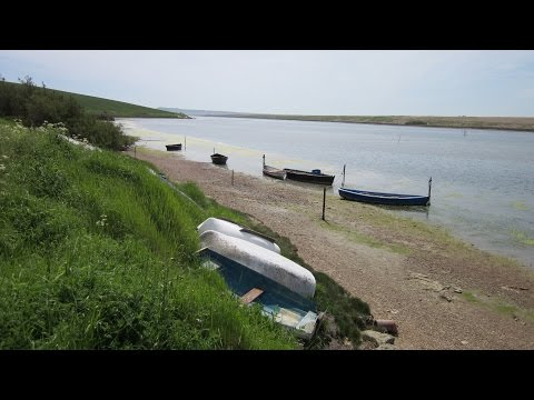 Fleet Lagoon, Jurassic Coast Walk, Dorset Walks, England, UK