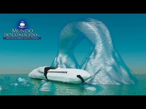 ¿Está el MH-370 en la Antártida?