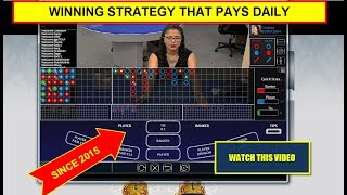 """""""Baccarat Strategy""""  - Learn To Win At Baccarat"""