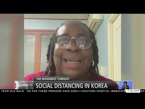 SOCIAL DISTANCING IN KOREA