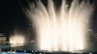 Dubai Fountain Avatar Song