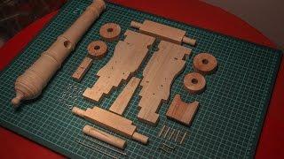 Пушка из дерева своими руками. Часть 1. Изготовление лафета.