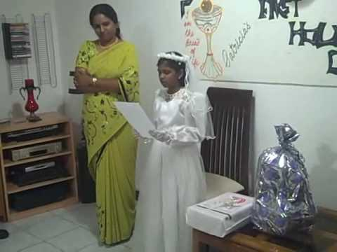 First Holy Communion Celebrations - Patricia Paul - Part II