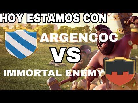 GUERRA DE TDC ARGENCOC VS IMMORTAL ENEMY