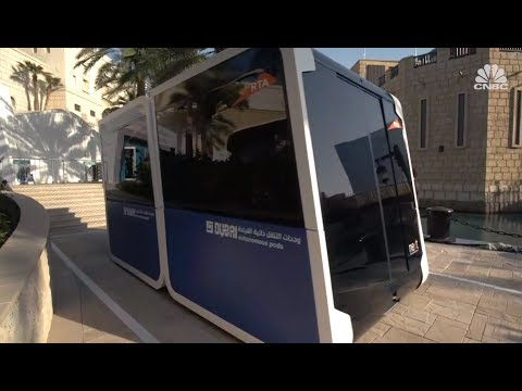 These autonomous pods could replace the world's buses   In The News