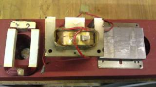 HOW TO TAKE A MICROWAVE TRANSFORMER APART