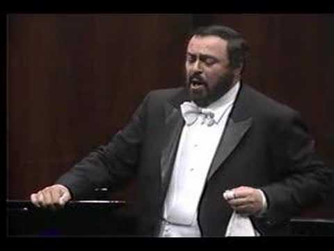 Pavarotti- Bella Nice, che d'amore- Bellini