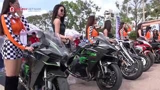 Dàn xe mô tô khủng hội ngộ tại Cần Thơ 2018