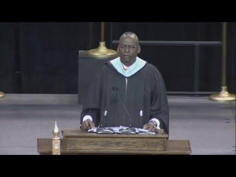 Retired Army Gen. Lloyd J. Austin III Spring 2016 Commencement address