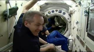 Hatch Opened! New Crew Enters Space Station