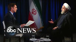 1-on-1 interview with Iranian President Hassan Rouhani