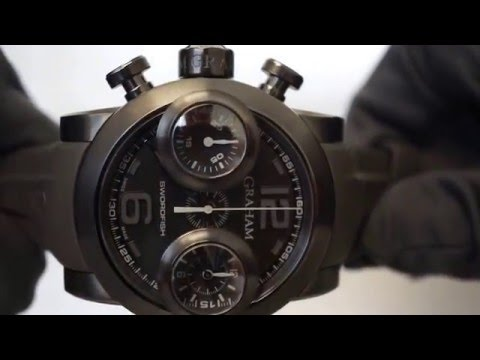 Graham Swordfish Booster PVD Automatic 2SWBB Chronograph