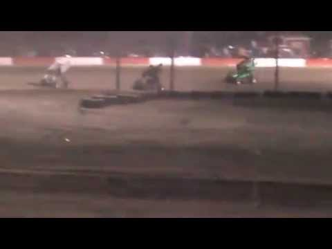 6/7/14 Anthony Farnsworth #10 Main Part 2-Casper Speedway