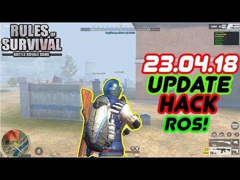 Rules Of Survival Hack PC !❤️UNDETECTED 22.04.2018❤️ Wallhack,Grass,ESP,Chams,telekill,aim,noclip❤️