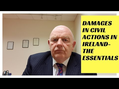 Damages in Civil Legal Actions in Ireland-the Essentials