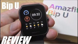 REVIEW: Amazfit Bip U - New Best Budget Smartwatch? [SpO2, HR, 60 Sports]