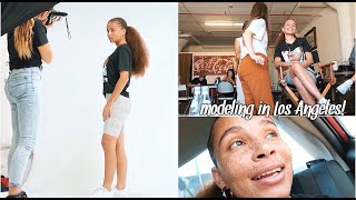 MY 1ST CASTING AS A MODEL IN LA 😭😭😭😭| I wasn't expecting all this!