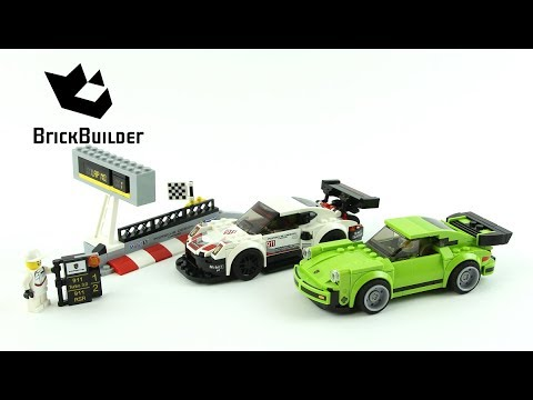 lego speed champions 75888 porsche 911 rsr and 911 turbo 3. Black Bedroom Furniture Sets. Home Design Ideas