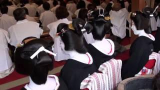 商売繁盛を願う十日恵比須神社の正月大祭。 1月9日の宵えびす、博多券番...
