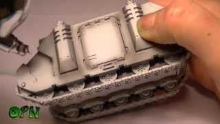 How to paint a Dark Angels Rhino part 3