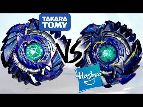HASBRO IS BETTER?!: Shelter Regulus .5S.Tw VS Regulus R3 .5S.Tw - Beyblade Burst God/Evolution