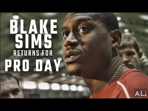 Blake Sims still hopes to play QB in the NFL