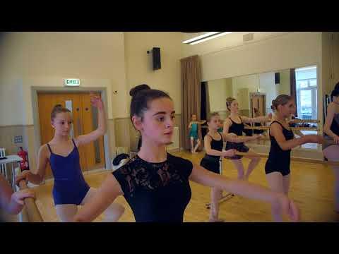 Jill d'Alton Ballet Masterclass  -  Crescent Arts Belfast Sept 2017