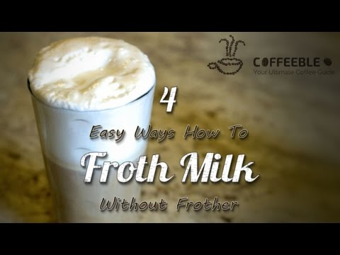 how to froth milk at home without frother youtube. Black Bedroom Furniture Sets. Home Design Ideas