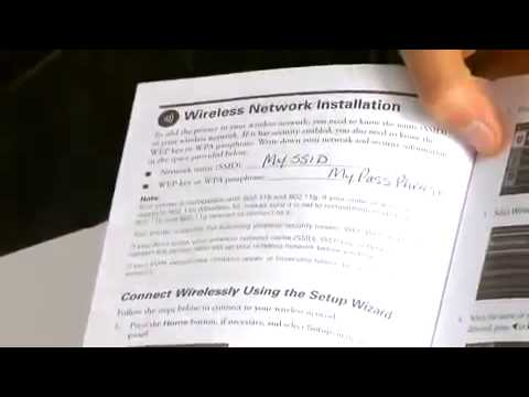 youtube how to set up epson printer wf-3640