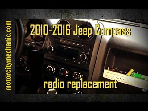 Jeep Compass Radio Removal