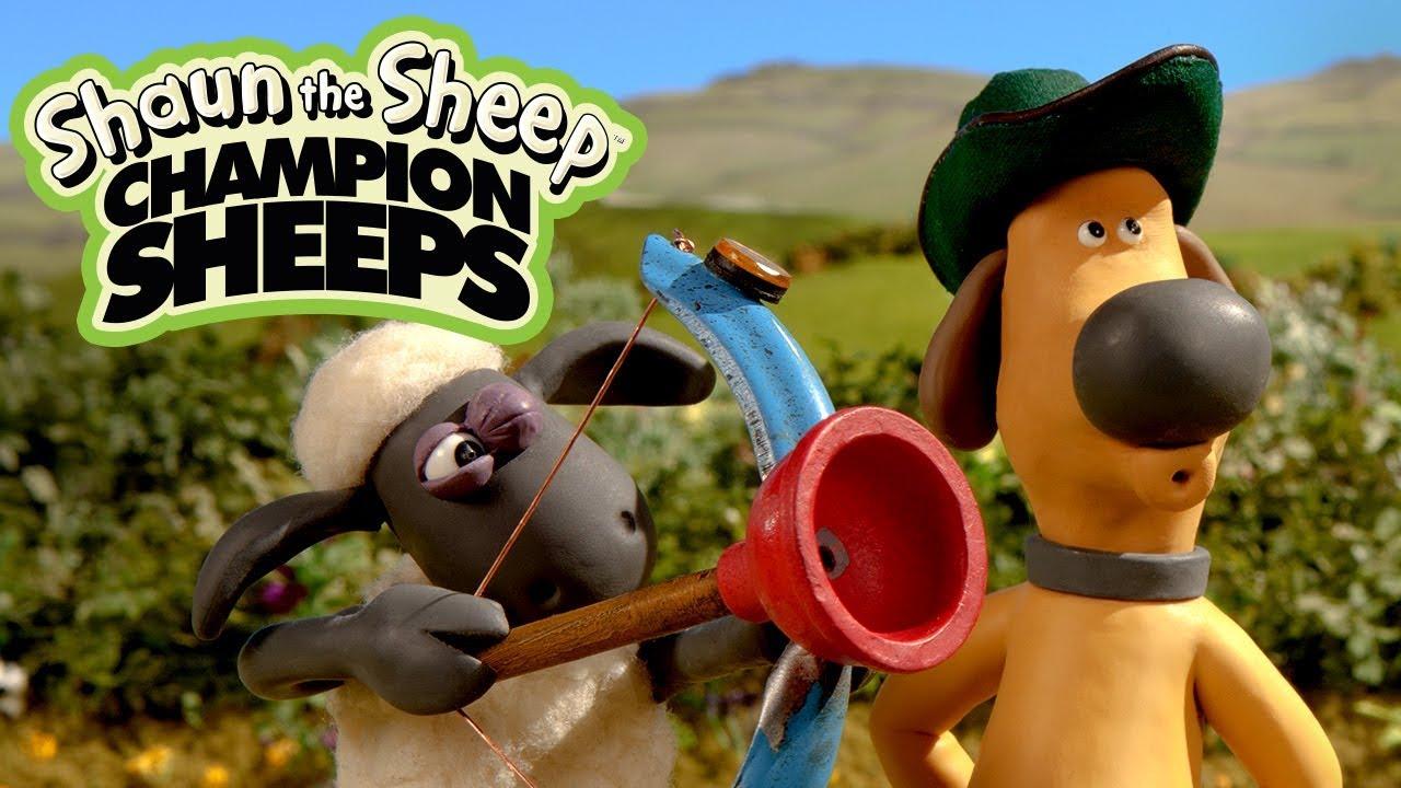 Bắn cung | Championsheeps | Những Chú Cừu Thông Minh [Shaun the Sheep]