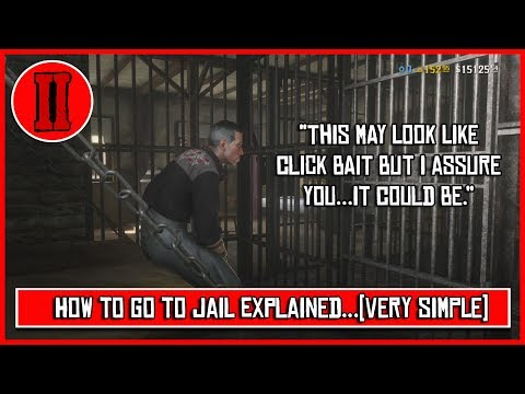 [Jail Time] Red Dead Online - How to go to Jail...(Yep, that can happen.)