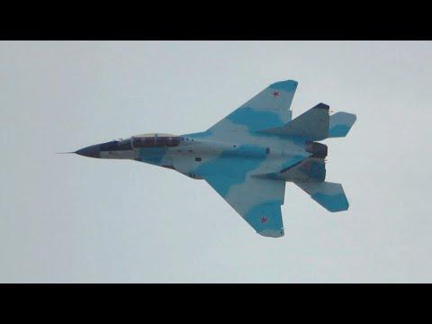 MAKS-2021 Airshow — Mikoyan MiG-35 4++gen Jet Fighter