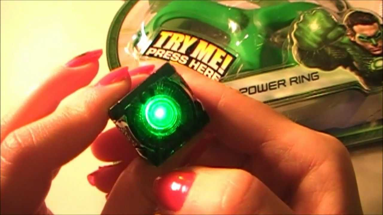 Green Lantern Movie Ring Toy