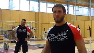 Dmitry Klokov & Dmitry Berestov - Russian National Weightlifting Center