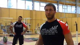 Dmitry Klokov & Dmitry Berestov - Russian National Weightlifting Center