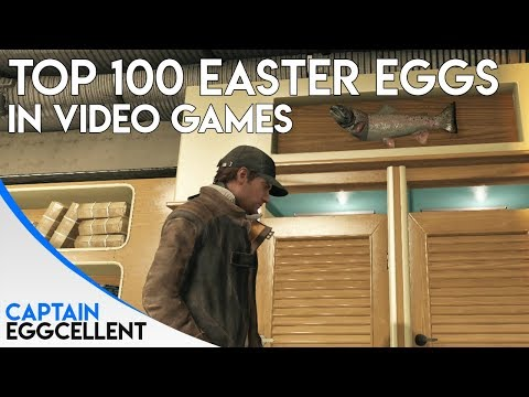 Top 100 Easter Eggs In Video Games - Part 4