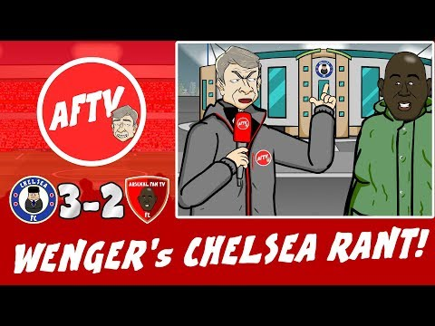 "😠WENGER RANT #2! Chelsea 3-2 Arsenal😠 ""Arsenal were F****** S*** FAM!"""