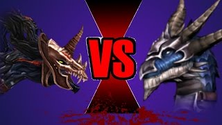 Amarok vs Skarr - Dragons Battle