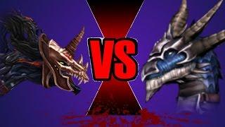 Amarok vs Skarr - Dragons Battle