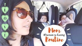 Indian Mom of Two Afternoon to Evening Routine | Indian vlogger